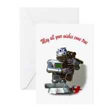 Funny Teddy Greeting Cards (Pk of 10)