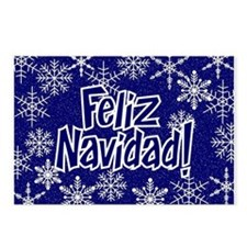 Snowflakes - spanish Postcards (Package of 8)