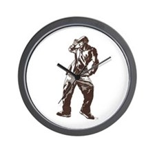 Dancing Dude Wall Clock
