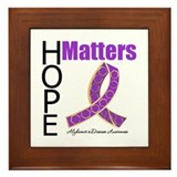 HopeMatters Alzheimers Framed Tile