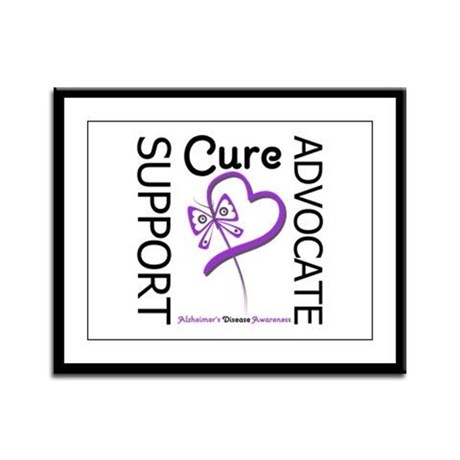 Alzheimer's Support_Advocate Framed Panel Print