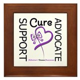 Alzheimer's Support_Advocate Framed Tile