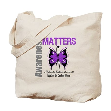 Alzheimer's AwarenessMatters Tote Bag