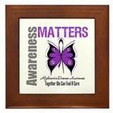 Alzheimer's AwarenessMatters Framed Tile