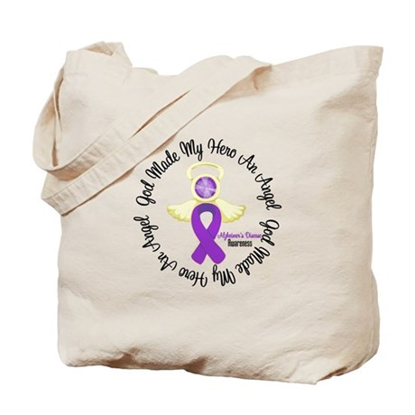 Alzheimer's AngelRibbon Tote Bag