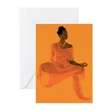 Cute Meditate Greeting Cards (Pk of 10)