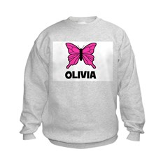 Butterfly - Olivia Kids Sweatshirt