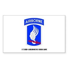 173rd Airborne Brigade Rectangle Decal