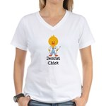 Dentist Chick Women's V-Neck T-Shirt