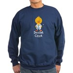 Dentist Chick Sweatshirt (dark)