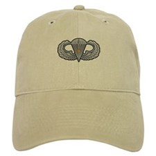 Airborne Wings with Combat St Baseball Cap