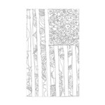 USA! USA! Rectangle Sticker 50 pk)