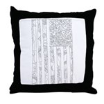 USA! USA! Throw Pillow