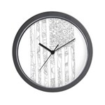 USA! USA! Wall Clock