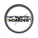 Quarter Hoarder Wall Clock
