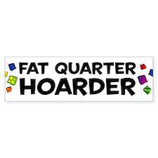 Quarter Hoarder Bumper Car Sticker