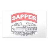 CAB with Sapper Tab Rectangle Decal