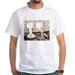 Voorburg Pigeon Pair White T-Shirt