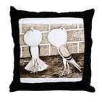 Voorburg Pigeon Pair Throw Pillow