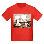 Voorburg Pigeon Pair Kids Dark T-Shirt
