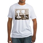 Voorburg Pigeon Pair Fitted T-Shirt
