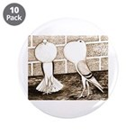 "Voorburg Pigeon Pair 3.5"" Button (10 pack)"