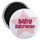 Baby Gabrielle 2.25&quot; Magnet (10 pack)