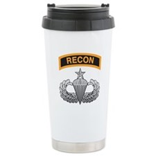 Recon Tab over Senior Airborn Ceramic Travel Mug