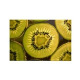 Kiwi Slices Rectangle Magnet (10 pack)