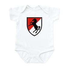 11th Armored Cavalry Regiment Infant Bodysuit