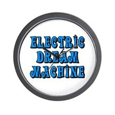 Electric Dream Machine Wall Clock