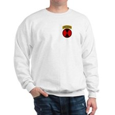 7th Infantry Div with Ranger Sweatshirt