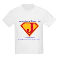 Jesus is My Super Hero T-Shirt