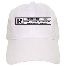 R RATED Baseball Cap