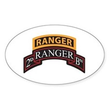 2D Ranger BN Scroll with Rang Oval Decal