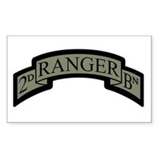 2D Ranger BN Scroll ACU Rectangle Decal