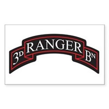 3D Ranger BN Scroll Rectangle Decal