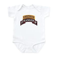 3D Ranger BN Scroll with Rang Infant Bodysuit