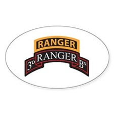 3D Ranger BN Scroll with Rang Oval Decal