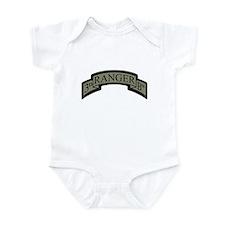 3rd Ranger Bn Scroll ACU Infant Bodysuit