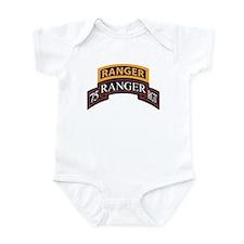 75 Ranger RGT scroll with Ran Infant Bodysuit