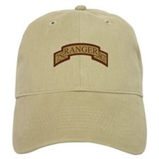 75th Ranger Regt Scroll Deser Baseball Cap
