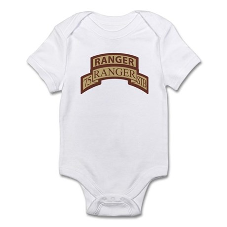 75th Ranger STB Scroll/Tab De Infant Bodysuit