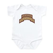75th Ranger STB Scroll/Tab De Infant Bodysuit