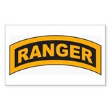 Ranger Tab Rectangle  Aufkleber