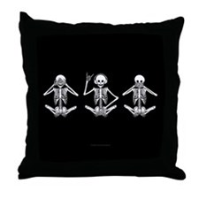 Hear No Evil? Throw Pillow