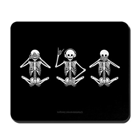Hear No Evil? Mousepad