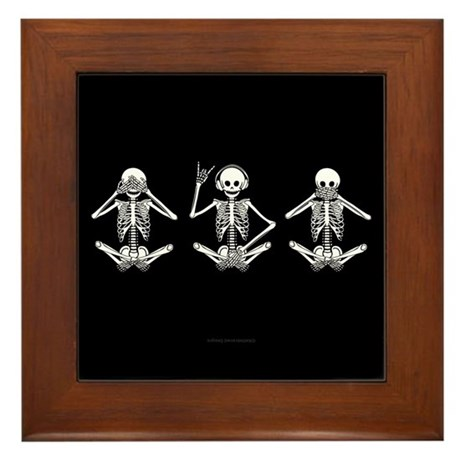 Hear No Evil? Framed Tile