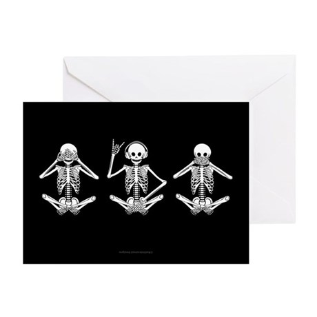 Hear No Evil? Greeting Cards (Pk of 10)