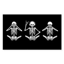 Hear No Evil? Rectangle Sticker 10 pk)